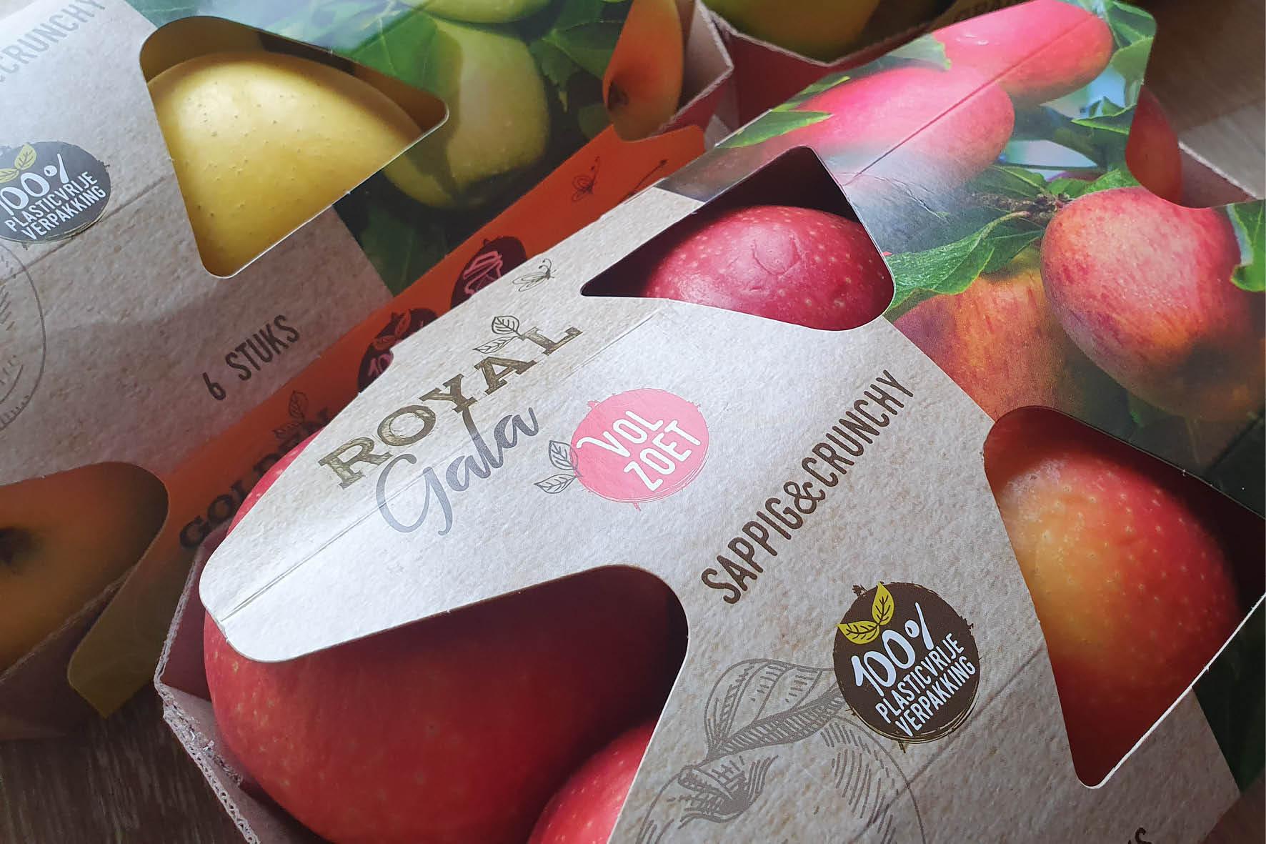 verpakkingsontwerp Sleeves appels