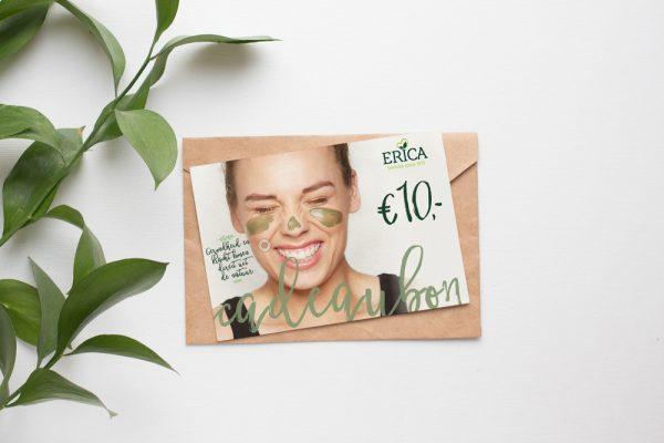 cadeaubon design Erica