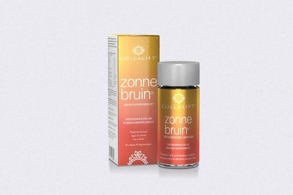Packaging design Zonnebruin