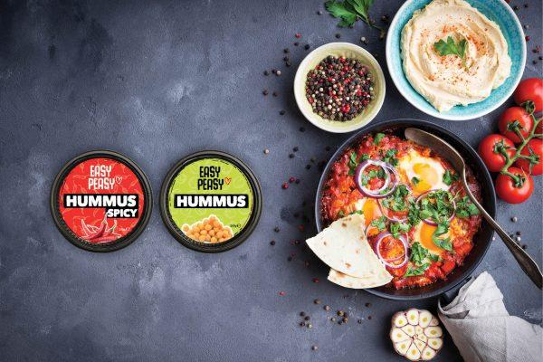 Hummus packaging design