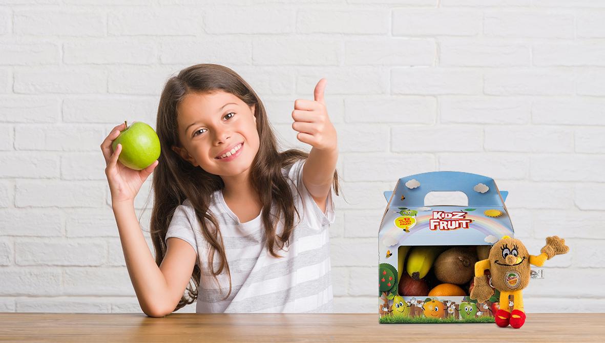 verpakkingsontwerp Kidz Fruit