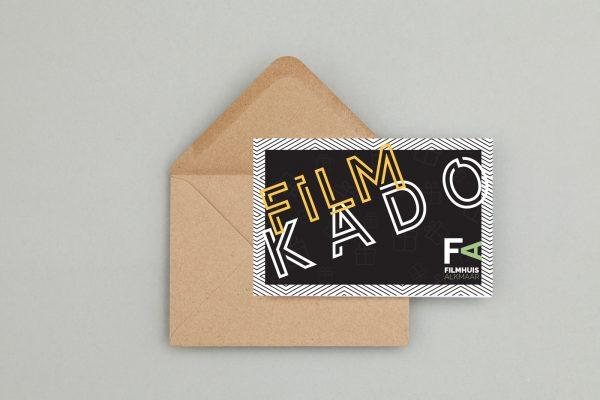 filmhuis cadeaukaart design