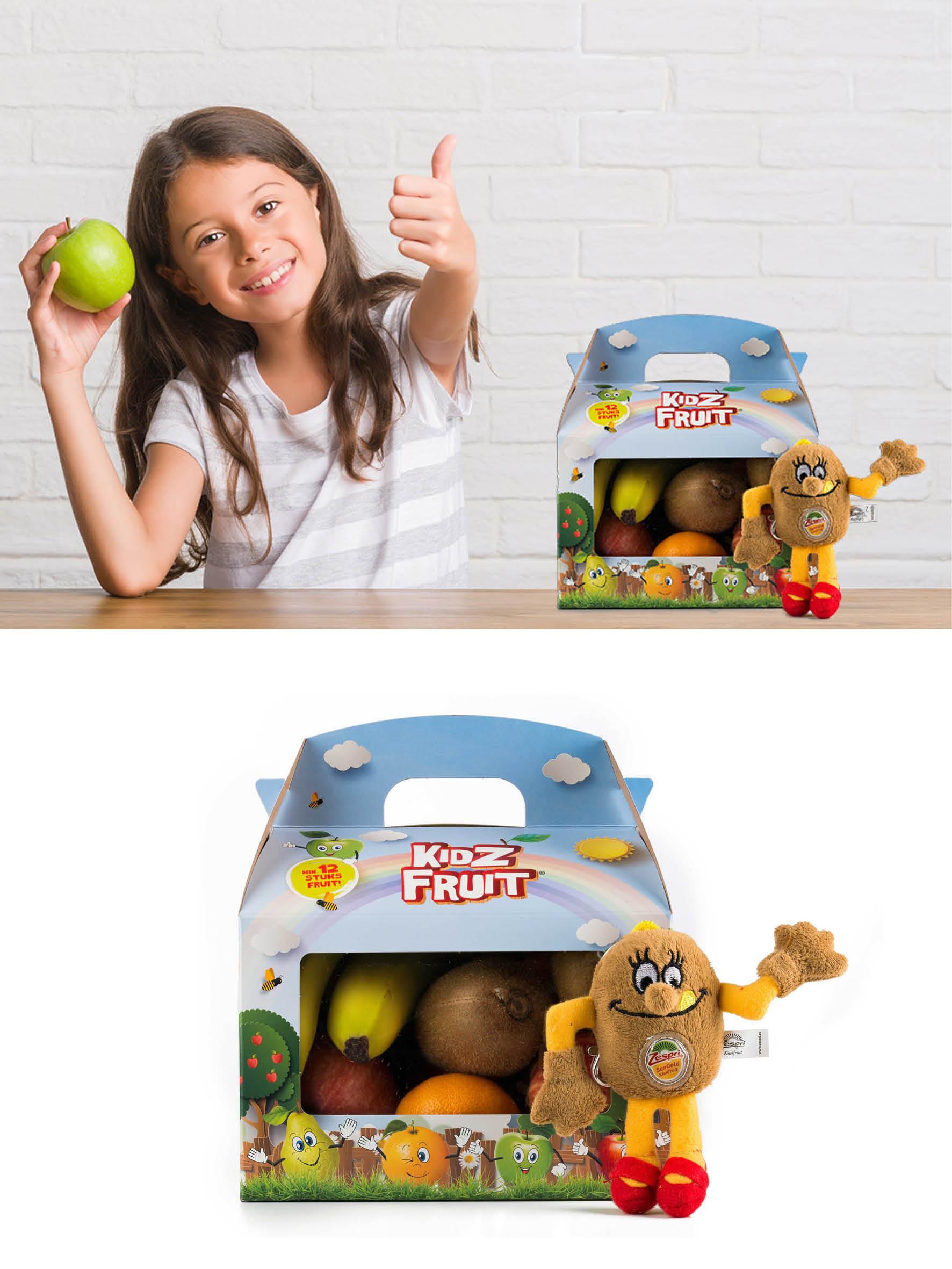 Verpakking ontwerp Kidz Fruit
