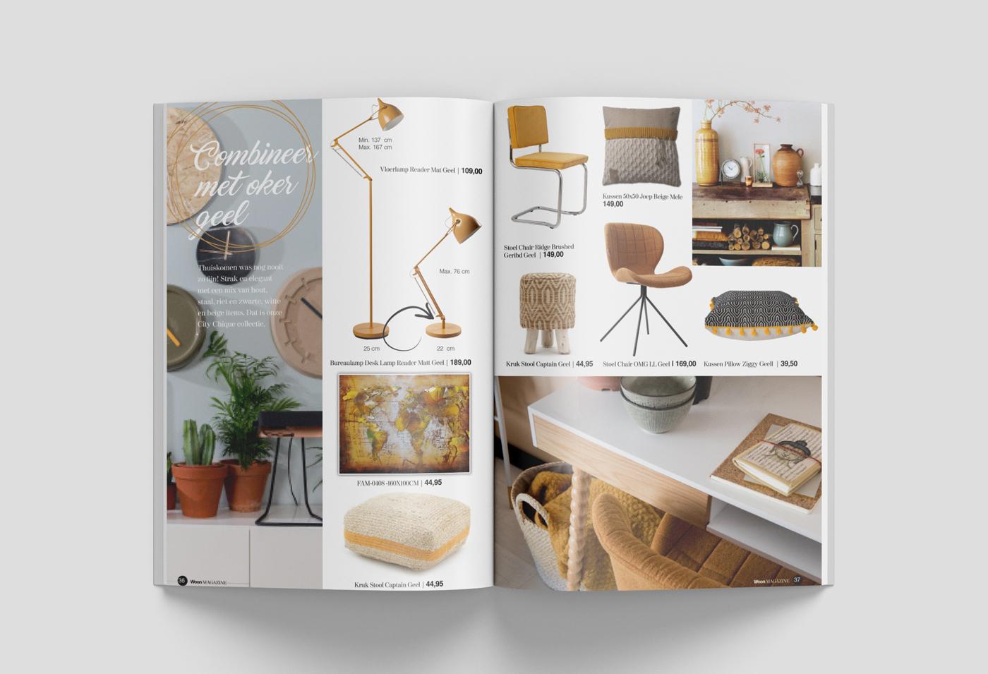 huisstijl ontwerp Woon alkmaar magazine