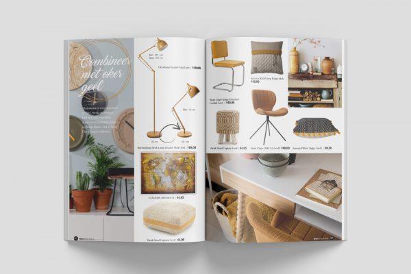 magazine design Woon