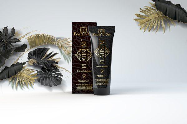 Tahnee platinum packaging design
