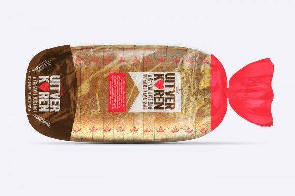 Uitverkoren brood packaging design