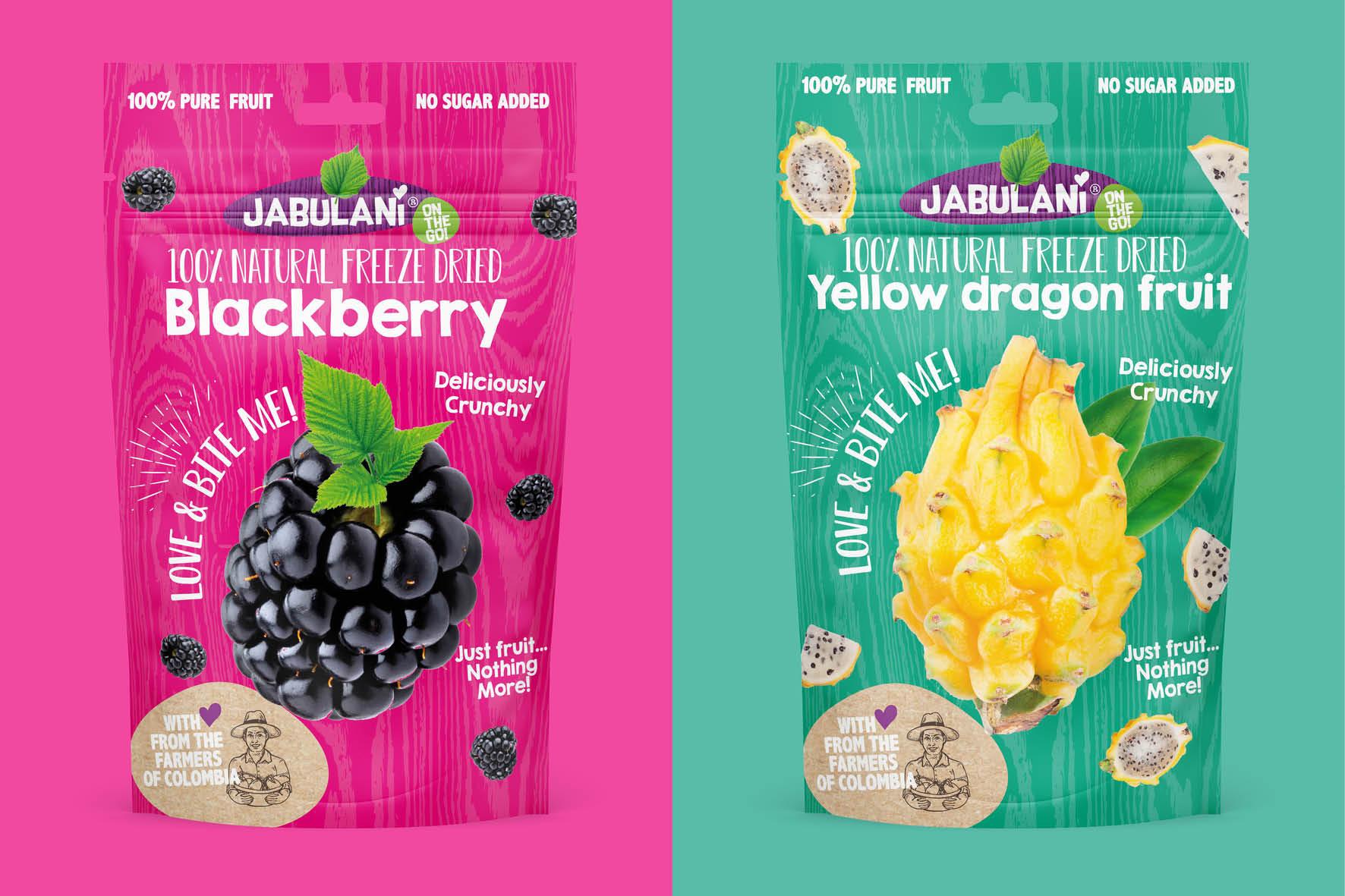 Merk en verpakkingsontwerp Jabulani